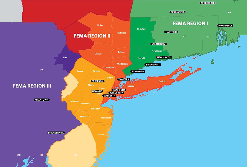 Map Of New York Jersey And Pennsylvania: Map Of New Jersey And New York At Slyspyder.com